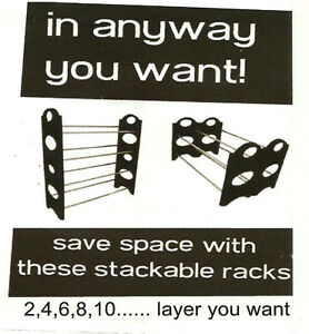 Shoe Rack (30 pair ) new in box from manufacturer London Ontario image 2