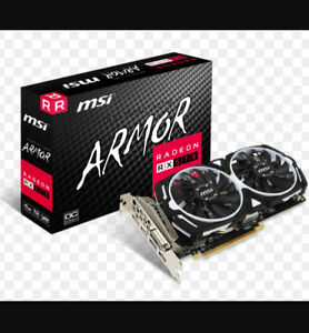 MSI RX570 ARMOR 4GB GRAPHICS CARDS  MINING/GAMING