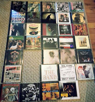 30+ CD lot: Clash, Stones, Dylan, Beatles, Tom Waits, Neil Young