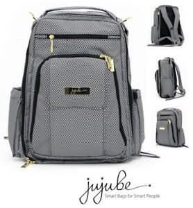 NEW JU-JU-BE LEGACY BE RIGHT BACK DIAPER BAG, THE QUEEN OF THE N