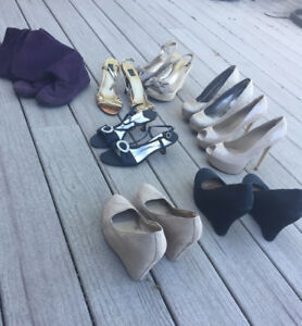 Aldo shoes and sandals