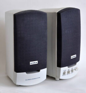 SPEAKERS: GREAT PAIR of BOKA MULTIMEDIA in EXCELLENT CONDITION