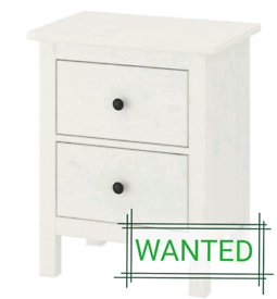 WANTED IKEA Hemnes bedside 2 drawers
