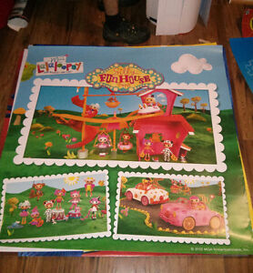 Lalaloopsy poster. Huge. 48inch X 48inch