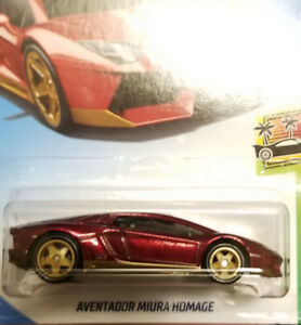 Hot Wheels Lamborghini Aventador super treasure hunt