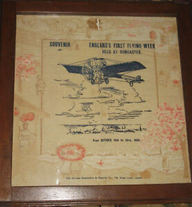 RARE AVIATION COLLECTABLE FOR ENGLAND FIRST FLYING WEEK 1909