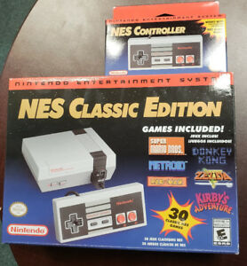 NES Classic Edition with bonus Controller and Extra Games!