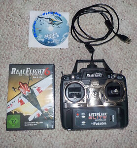 Real Flight RC Simulator + Elite Controller + Heli Mega Pack