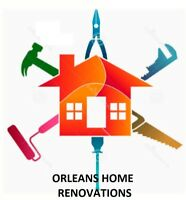 Orleans Home Renovations.  Your home improvement experts