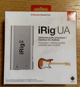 iRig UA for your Android Device - BRAND NEW UNOPENED