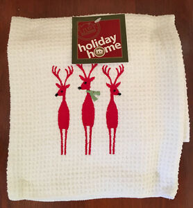 Reindeer tea towels Peterborough Peterborough Area image 1