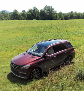 2013 Mercedes-Benz M-Class ML63 AMG SUV, Crossover