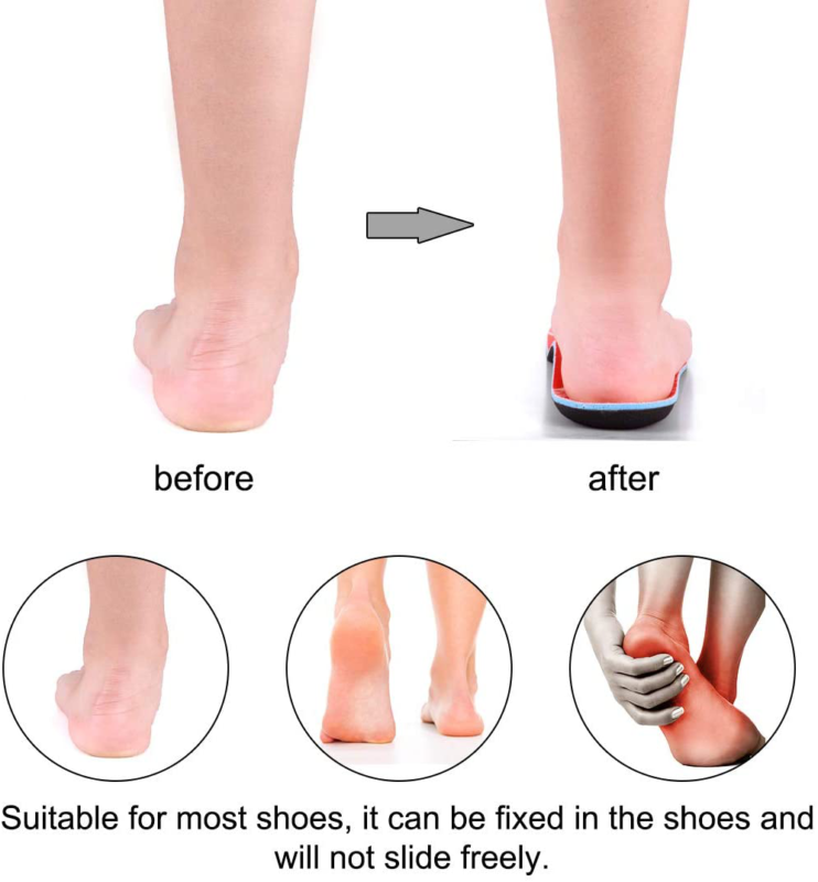 Valsole Plantar Fasciitis for and Women Arch Shoe