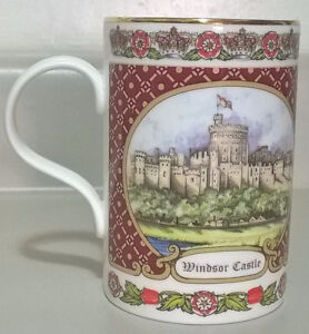James Sadler  Fine Bone China Windsor Castle Coffee Mug