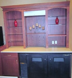 Bar with Granite Counter & Hutch - Beautiful - Nice Pieces Cambridge Kitchener Area image 8