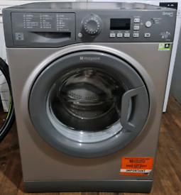 9kg Silver Hotpoint Washing Machine - Free local delivery and fitting
