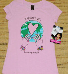 GIRL CONFIDENTIAL -Girls Size 12 Short Sleeve Tee - BNWT