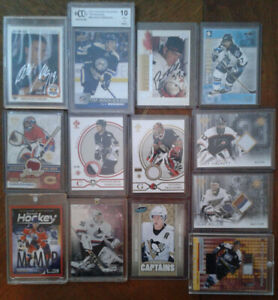 Nhl patches serial numbered&autos