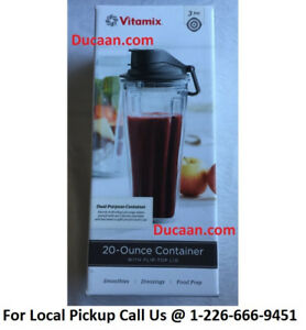 NEW Vitamix 056264 Container/To-Go Cup, 20-Ounce, Clear- SEALED