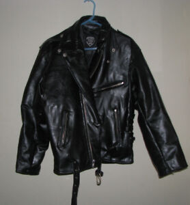 James Dean Style Buffalo Leather Jacket