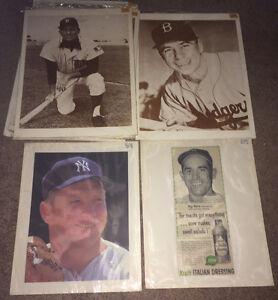 Vintage MLB Photo's, Ads, Sketches etc.. Mantle,Berra,Stengel++