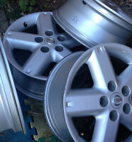 Nissan XTRAIL 2006 original alloy wheels