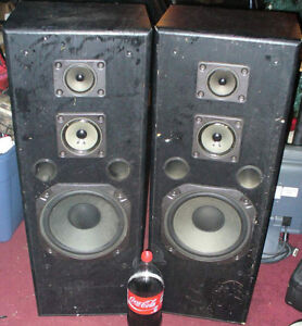 Set of Large 1970's or 80's stereo speakers