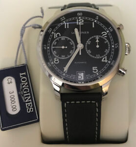 Longines Heritage Military Chronograph 1938 Watch  L2.790.4.53.0