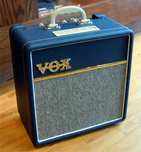 VOX AC4C1-BL 4 Watt Tube Combo with VX10 Speaker in Blue AC4