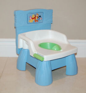 Winnie the Pooh 3-in-1 Flush N Sounds Training Potty for Toddler