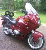 1998 BMW R1100RT Sport touring motorcycle