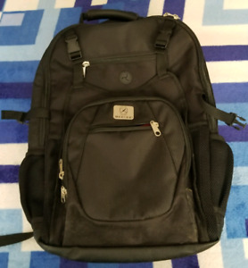 Big backpack with laptop compartment