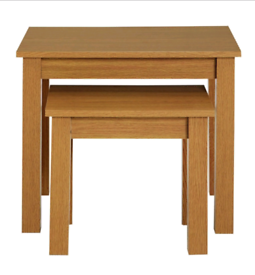 GV Nest of 2 Coffee Tables only £25. Real Bargains Clearance Outlet