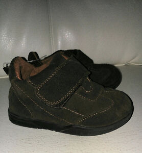Toddler Boys..faux-suade boots & sneakers