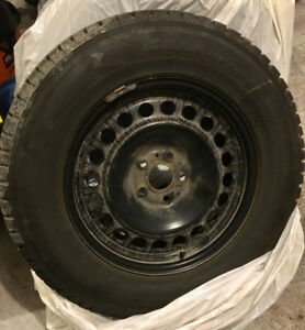 Winter Tires & Steel Rims for SUV