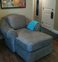 Wonderful Sears chaise - NEVER USED ($549)