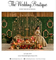 HIGH END WEDDING BACKDROPS AT AFFORDABLE PRICES