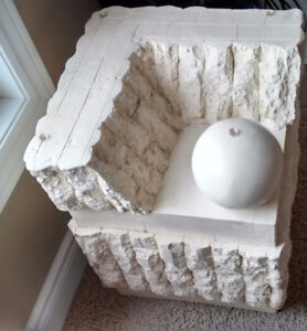 Unique and beautiful Fossil Stone End table. Kitchener / Waterloo Kitchener Area image 3