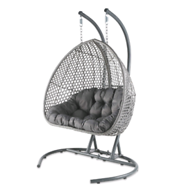 DOUBLE EGG CHAIR, BRAND NEW BOXED