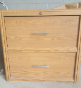 Wooden Drawer Filing Cabnet