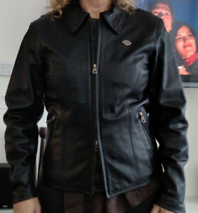 Harley Davidson Women's Black Leather Jacket