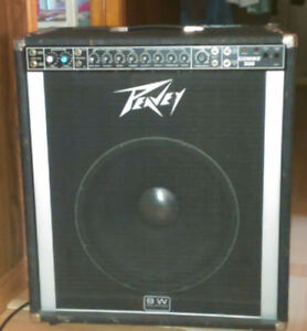 Pevy bass amp