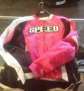 Speed and Strength Jacket - PINK