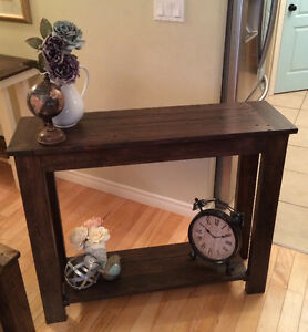Rustic Country Chic Sofa Table Belleville Belleville Area image 2