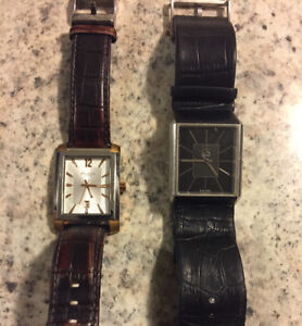 Kenneth Cole and CK Men's watches