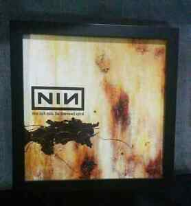 "Nine Inch Nails Trent Reznor Promo  12"" Album Cover Flats London Ontario image 7"