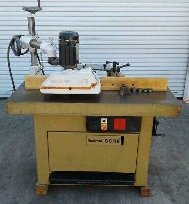 1988 Scmi T120-k Shaper Woodworking Machinery