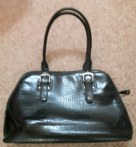 Leather laptop bag or purse