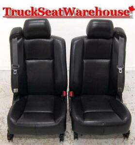Cadillac CTS BLACK LEATHER Heated Power Bucket Seats Custom Rod