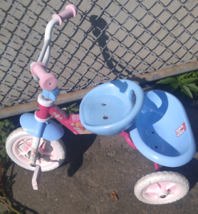 Huffy, Kids tricycle. Folds. Seat adjusts. $23
